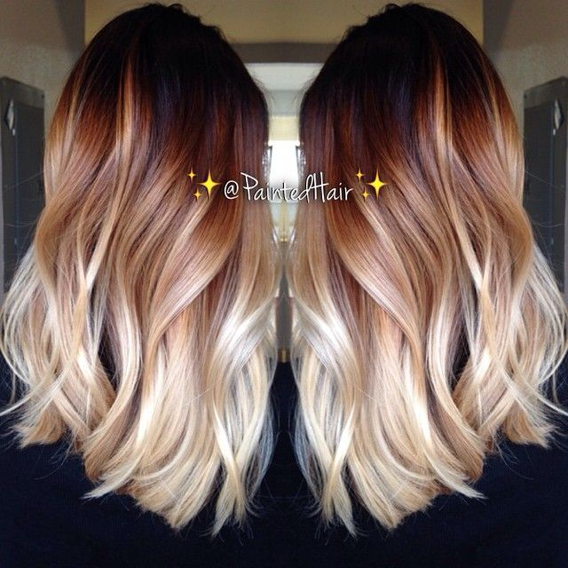 Brown to Blond Ombre Hair