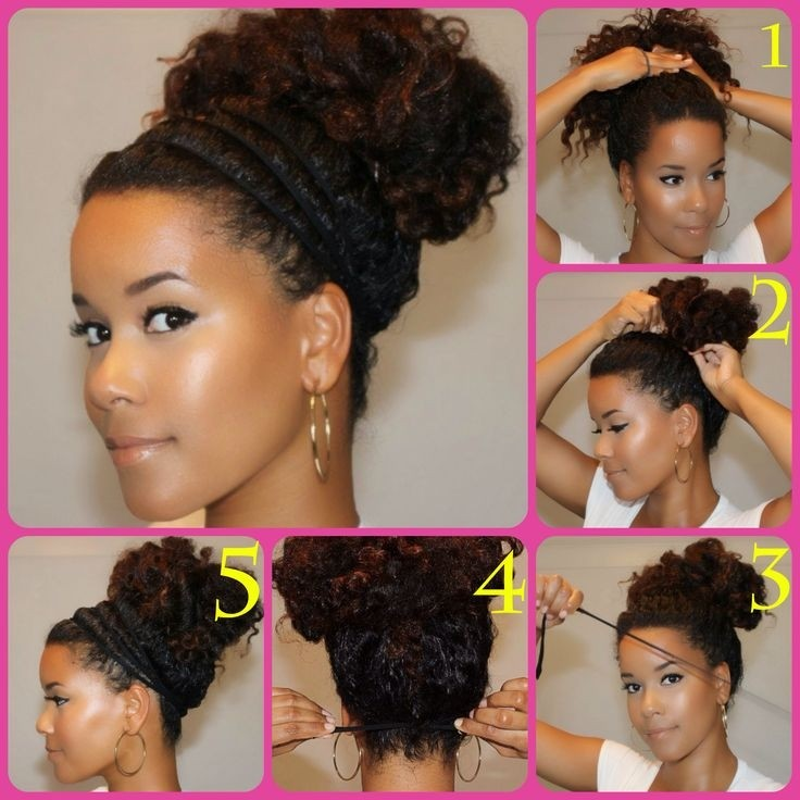 Back to School Hairstyle for Curly Hair
