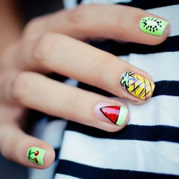 Lovely Colored Nails