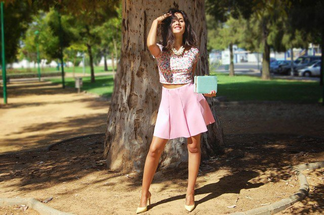 Lovely Pink Outfit Idea