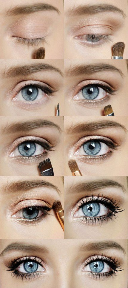 nude-eye-makeup via