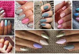 15 Sweater Inspired Nail Designs