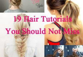 19 Easy Hair Tutorials für den Sommer