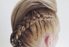 20 Faux Hawk Frisur für Frauen - Trendy Female Fauxhawk Hair Ideas