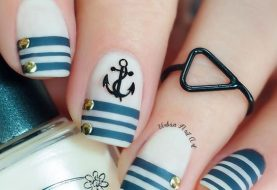 20 Nautical Themed Nail Arts You Will Like