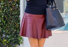 22 Stylish Leather Skirts for Women