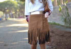22 Trendy Suded & Fringe Outfits for Fall