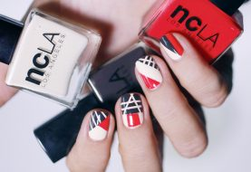 Dress Up Your Nails With Geometric Patterns