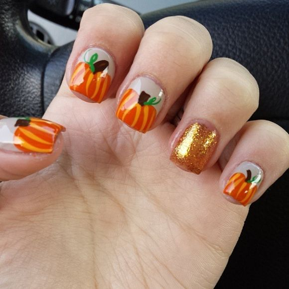 Beautiful Fall Nails