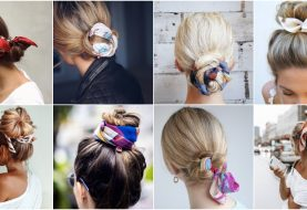Scarf Bun Is The Ultimate Trend This Summer