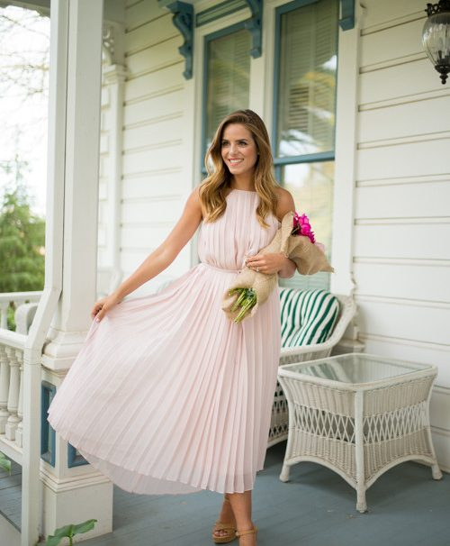 15 Super Charming Pleated Dresses and Skirts