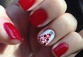 20 Ideas you will Love for Christmas Nails