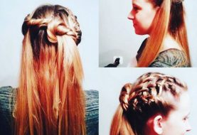 23 Latest Half Up Half Down Hairstyle Trends