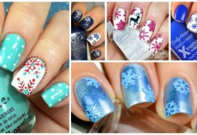Snowflake Nails That Will Melt Your Hearts